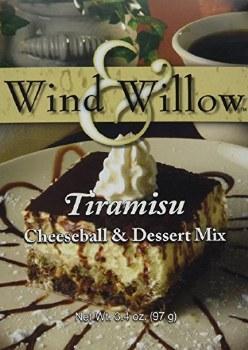 Wind & Willow Cheeseball & Dessert Mix- Tiramisu
