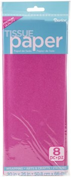 Tissue Paper Sheets - Fuschia 8pc.