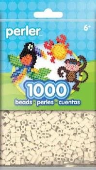 Perler Beads 1000 piece- Toasted Marshmallow