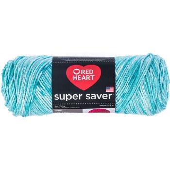 Red Heart Super Saver Yarn, Mulit-Color- Topaz