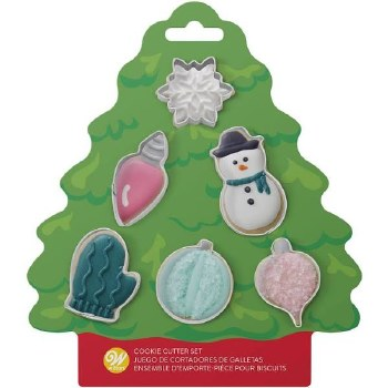 Cookie Cutter Minis Set, 6pc