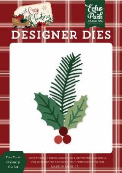 A Cozy Christmas Designer Dies- Tree Farm Greenery
