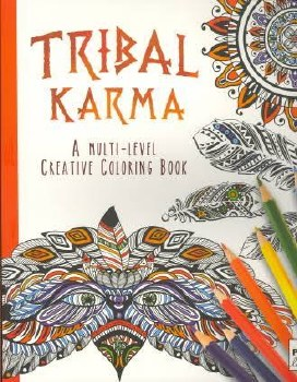 Adult Coloring Book- Tribal Karma