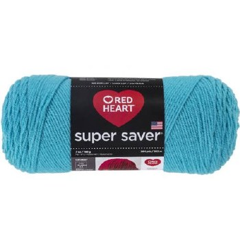Red Heart Super Saver Yarn- Turqua