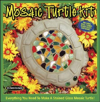 Stepping Stone Kit- Mosiac Turtle