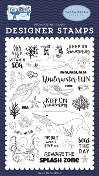Fish are Friends Designer Stamps