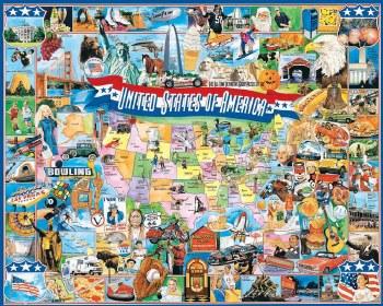 United States of America- 1000 Piece Puzzle