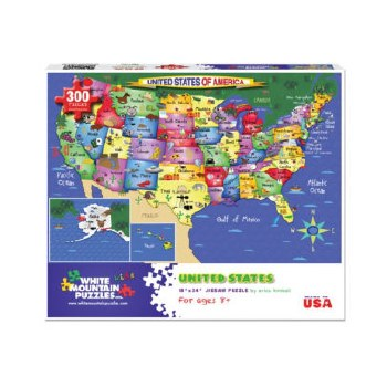 United States of America - 300 Piece Puzzle