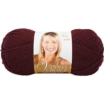 Vanna's Choice Yarn- Burgundy