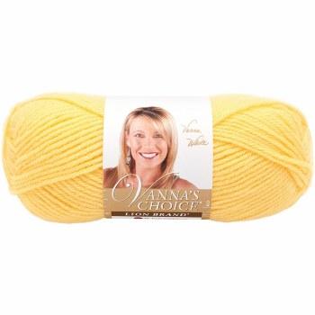 Vanna's Choice Yarn- Lemon