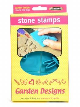 Stone Stamps- Victorian Garden Designs