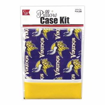 Pillowcase Kit- Minnesota Vikings