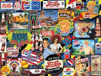 Pepsi, Vintage - 1,000 Piece Puzzle