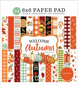 Welcome Autumn 6x6 Paper Pad