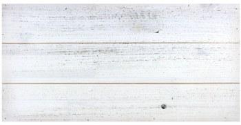 """9.75""""X19.5"""" White Pallet Plaque"""
