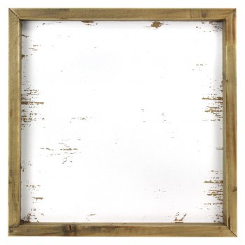 """Sign Blank with Distressed Insert- 11.5""""x11.5"""""""