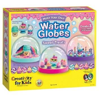 Creativity for Kids Craft Kit- Water Globes, Sweet Treats