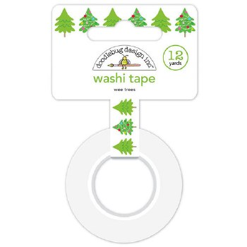Christmas Town Washi Tape- Wee Trees