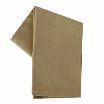 "Solid Weave 20""x28"" Tea Towel- Wheat"