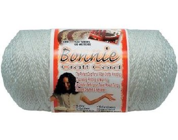 Bonnie 4mm Craft Cord- White