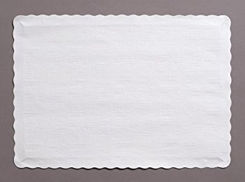 Touch of Color Paper Placemats, 50ct- White
