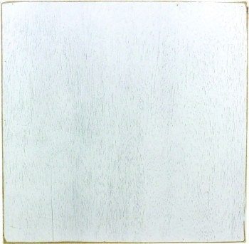 "Wood Box Sign- 12""x12"" White"
