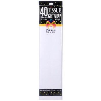 Tissue Paper Sheets - White 40pc.