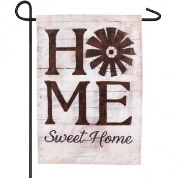 Garden Flag, Linen- Windmill Home