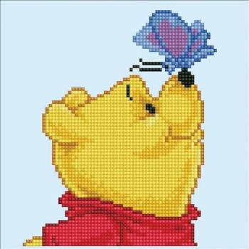 Diamond Facet Art Kit- Disney, Winnie the Pooh