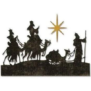 Tim Holtz Christmas Thinlits- Wise Men