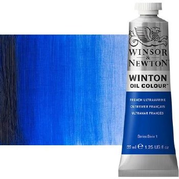 Winsor & Newton Oil Color, 37ml- French Ultramarine