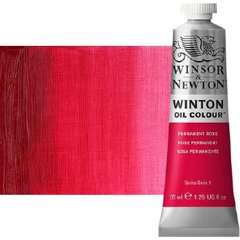 Windsor & Newton Oil Color, 37ml- Permanent Rose