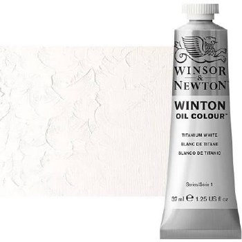 Winsor & Newton Oil Color, 37ml- Titanium White