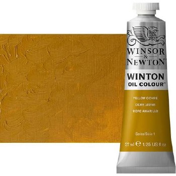 Windsor & Newton Oil Color, 37ml- Yellow Ochre