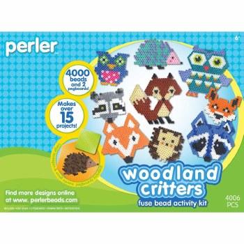 Perler Beads Kit- Woodland Critters
