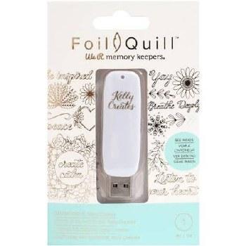 Foil Quill USB Art- Kelly Creates
