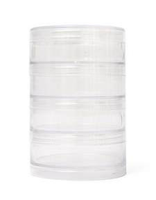 Storage Jars- Stackable, Large 4pc