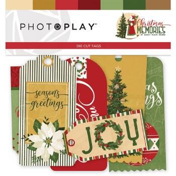 Christmas Memories Ephemera Tags