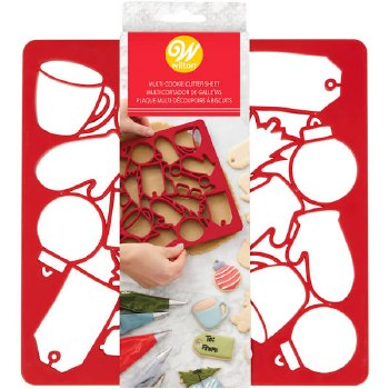 Holiday Baking- Cookie Cutter Sheet, 1pc