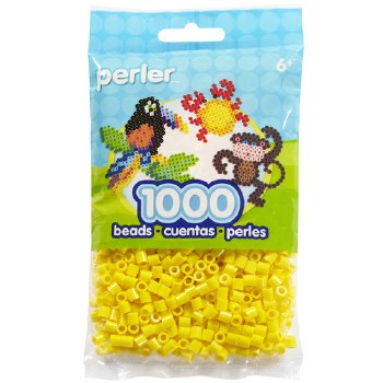 Perler Beads 1000 piece- Yellow