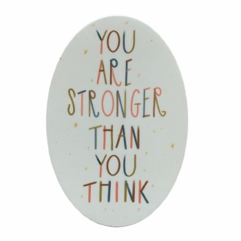 Stronger Than You Think Stickers