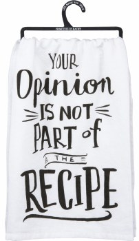 LOL Dish Towel- Your Opinion