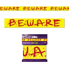 """""""BEWARE"""" Party Tape"""