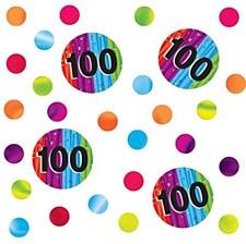 Printed Confetti 100