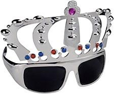 Silver Crown Sunglasses