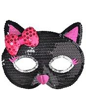 Sequin Cat Mask