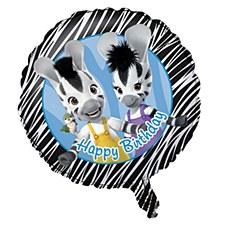 Zou Happy Birthday Metallic Balloon