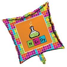 Get Nerdy Metallic Balloon