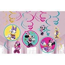 Minnie Swirl Decorations