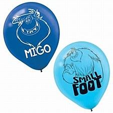 Small Foot Latex Balloons